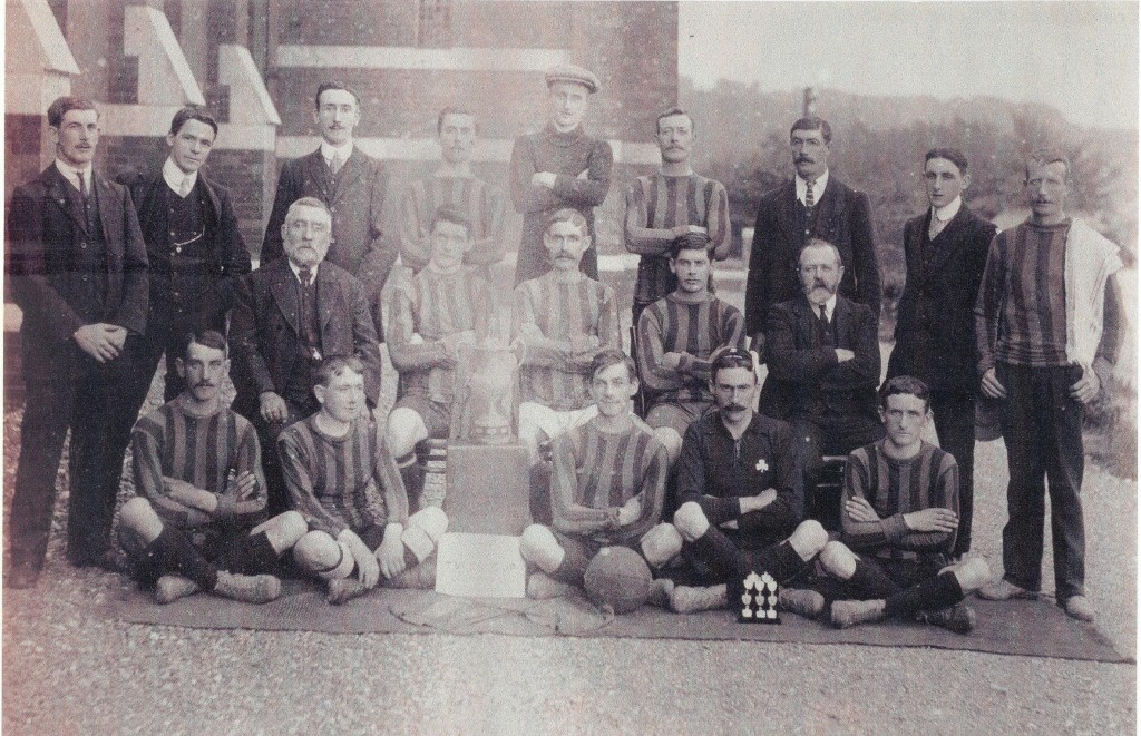 Barrackton FC, a Cork team formed near Victoria Barracks, c.1909-1910. Courtesy of Plunkett Carter
