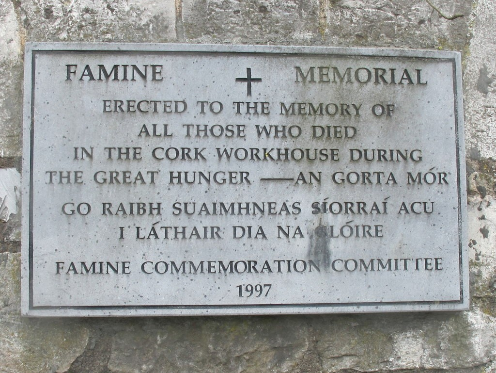 Famine Memorial, Douglas Road, Cork.