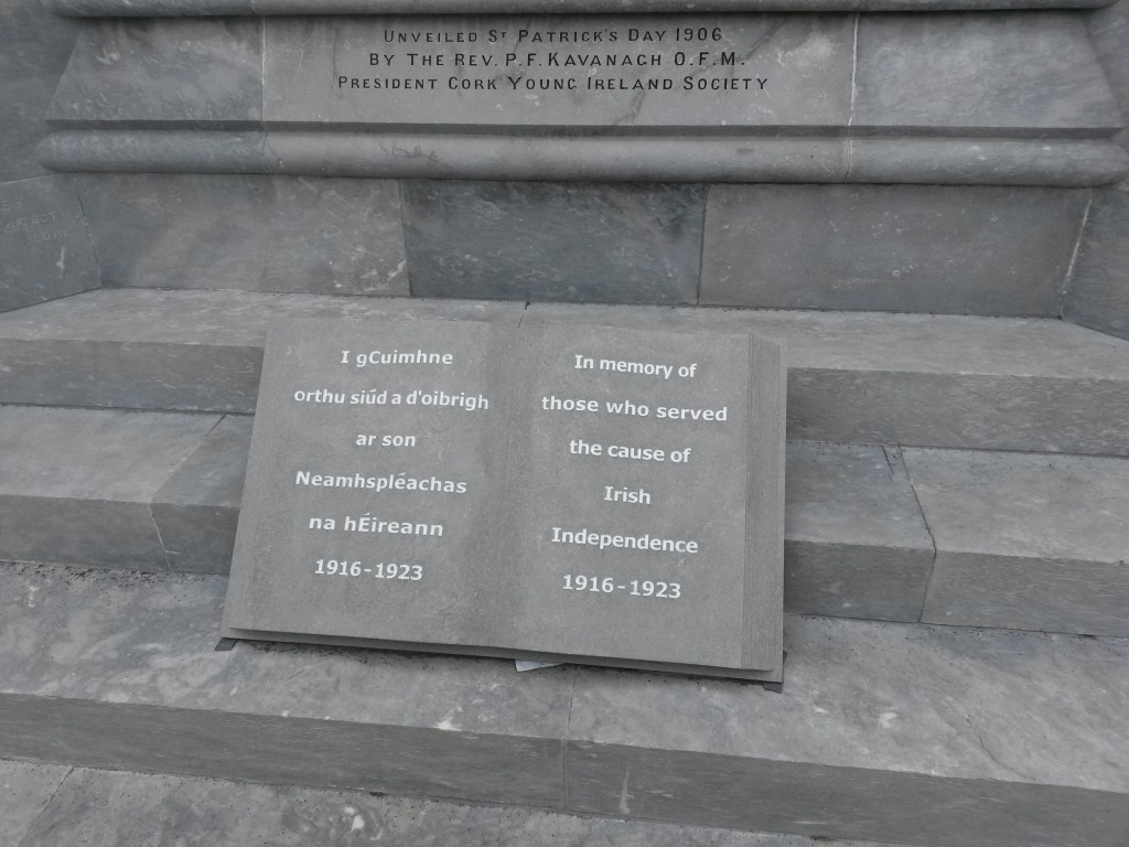 New addition to the National Monument, Cork