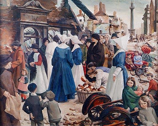 Muriel Brandt, The Breadline, 1916 (c.1950)