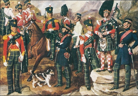 The 74th Regiment by Daniel Cunliffe (1846) Source